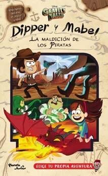 portada Gravity Falls. Dipper y Mabel. La Maldicion de los Piratas (Con Poster)