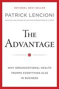 the advantage - patrick m. lencioni - john wiley & sons inc