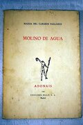 Molino De Agua - Maria Del Carme - Rialp