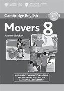 Movers 8. Answers Booklet - Varios Autores - Cambridge University Press