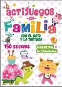 Actijuegos en Familia el Gato y la Tortuga - Latinbooks - Latinbooks