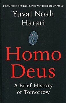 portada Homo Deus: A Brief History Of Tomorrow