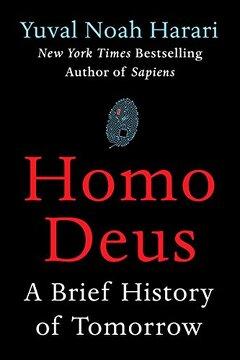 portada Homo Deus: A Brief History of Tomorrow (libro en inglés)