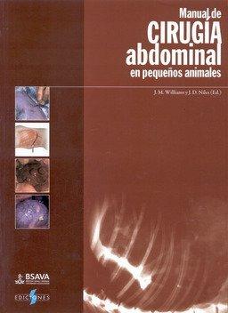 portada Manual de Cirugía Abdominal en Pequeños Animales