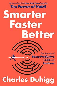 portada Smarter Faster Better: The Secrets of Being Productive in Life and Business (libro en Inglés)