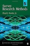 Survey Research Methods (Applied Social Research Methods) (libro en Inglés) - Floyd J. Fowler - Sage Pubn