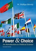 Power & Choice: An Introduction to Political Science (libro en Englisch) - W. Phillips Shively - Mcgraw-Hill Education - Europe