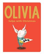 Olivia Helps with Christmas (Classic Board Books) (libro en Inglés) - Ian Falconer - Atheneum Books for Young Readers