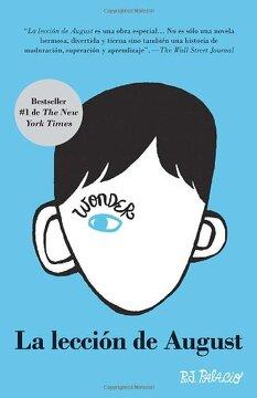 portada La Lección De August: Wonder (spanish-langugae Edition) (vintage Espanol) (spanish Edition)