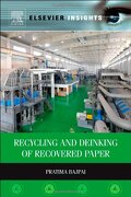 Recycling and Deinking of Recovered Paper (Elsevier Insights) (libro en Inglés) - Pratima Bajpai - Elsevier