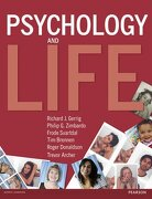 Psychology & Life And Mypsychlab Pack - Richard J. Gerrig,philip Zimbardo,frode Svartdal,tim Brennen,roger Donaldson,trevor Archer,philip G. Zimbardo - Pearson Education Limited