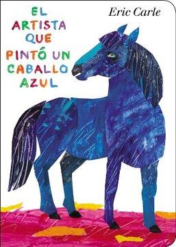 portada El Artista que Pinto un Caballo Azul