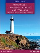Principles of Language Learning and Teaching (libro en Inglés) - H. Douglas Brown - Pearson Education Esl