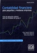 Contabilidad Financiera Para Pequeñas y Medianas Empresas (Segunda Edición) - Cesar Augusto Salazar B. Edgar Emilio Salazar B. Jaime Aturo Marín S - LEGIS