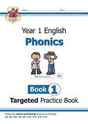 New KS1 English Targeted Practice Book: Phonics - Year 1 Book 1 (Paperback) (libro en Inglés)