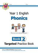 New ks1 English Targeted Practice Book: Phonics - Year 1 boo (libro en Inglés) - Cgp Books - Coordination Group Publications Ltd