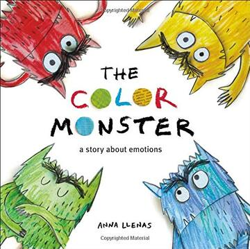 portada The Color Monster: A Story About Emotions (libro en Inglés)