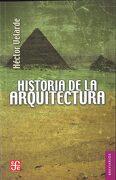 Historia de la arquitectura - Velarde Héctor - Fondo de Cultura Económcia