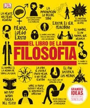 portada Libro de la Filosofia (Grandes Ideas Explicaciones Sencillas) (Ilustrado) (Cartone)
