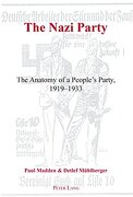 The Nazi Party: The Anatomy of a People's Party, 1919-1933 (libro en inglés) - Paul Madden; Detlef Mühlberger - Peter Lang