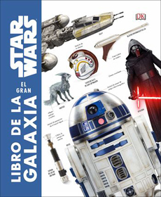 portada Star Wars: El Gran Libro de la Galaxia (Dk) (Td)