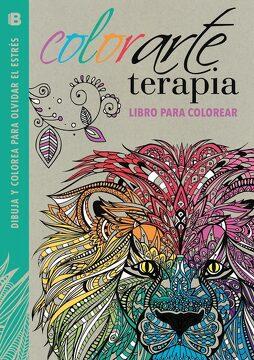 portada Colorarte Terapia: Libro Para Colorear
