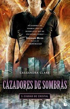portada Cazadores de Sombras 3: Ciudad de Cristal - Booket