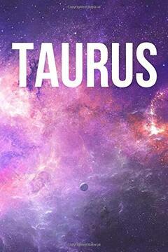 portada Taurus: Astrology Journal, Zodiac Sign Notebook (libro en inglés)