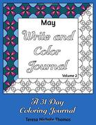 May Write and Color Journal - Volume 2 (libro en inglés)