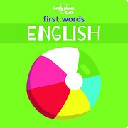 First Words - English (Lonely Planet Kids) (libro en Inglés)