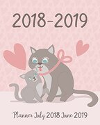 Planner July 2018 June 2019: Two Year - Daily Weekly Monthly Calendar Planner | 12 Months July 2018 to June 2019 for Academic Agenda Schedule.   (July 2018 to June 2019 Planner) (Volume 4) (libro en inglés)