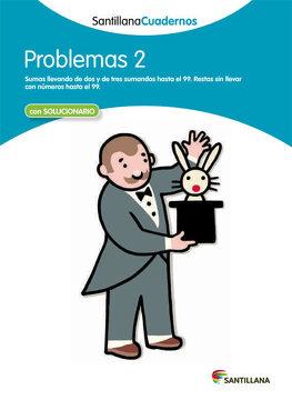 portada Santillana Cuadernos Problemas 2 con Solucionario Santillana