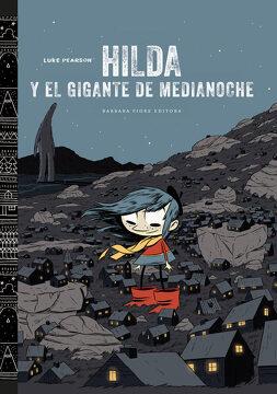 portada Hilda y el Gigante de Medianoche