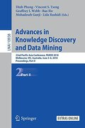 Advances in Knowledge Discovery and Data Mining: 22Nd Pacific-Asia Conference, Pakdd 2018, Melbourne, Vic, Australia, June 3-6, 2018, Proceedings, Part ii (Lecture Notes in Computer Science) (libro en Inglés) -  - Springer