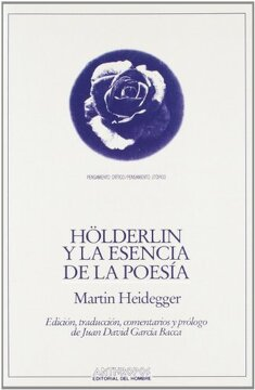portada Holderlin y la Esencia de la Poesia