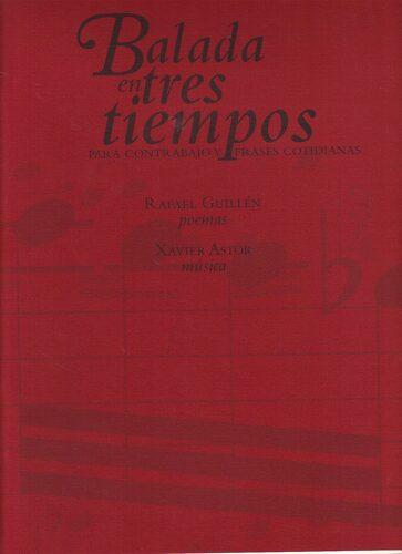 Libro Baladas En Tres Tiempos Para Contrabajos Y Frases Cotidianas Pablo Palazuelo Isbn 9788478071401 Comprar En Buscalibre