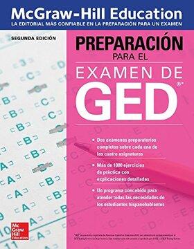 portada Preparación Para el Examen de Ged, Segunda Edicion