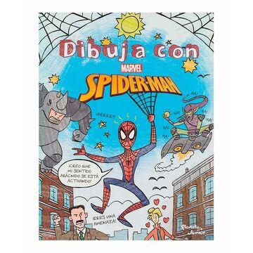 portada Dibuja con Spider-Man