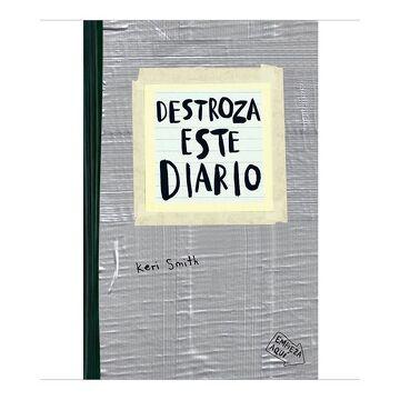 portada Destroza Este Diario - Marron