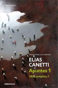 portada Apuntes 1 (Obra Completa Canetti 7) (Contemporanea)