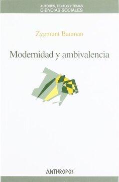 portada Modernidad y Ambivalencia
