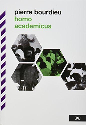 Homo academicus; pierre bourdieu