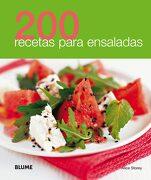 200 Recetas Para Ensaladas - Varios Autores - Blume