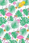 My Journal: Bright and Cheerful Flamingos in Monstera Jungle 108 Page Notebook (Flamboyant Flamingos and Monster Monstera Collection) (libro en inglés)