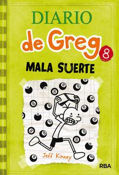 portada Diario de Greg 8: Mala Suerte