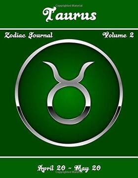 portada Taurus Zodiac Journal - Volume 2 (libro en inglés)