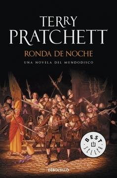 portada Ronda de Noche (Terry Pratchett) Mundodisco 29 (Debolsillo) Mundodisco 29
