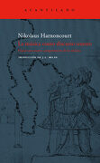 La Música Como Discurso Sonoro - Nikolaus Harnoncourt - Acantilado