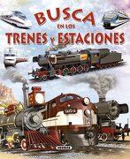 Busca en los Trenes y Estaciones - Varios Autores - Susaeta