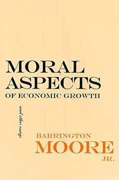 portada Moral Aspects of Economic Growth, and Other Essays (The Wilder House Series in Politics, History and Culture) (libro en inglés)
